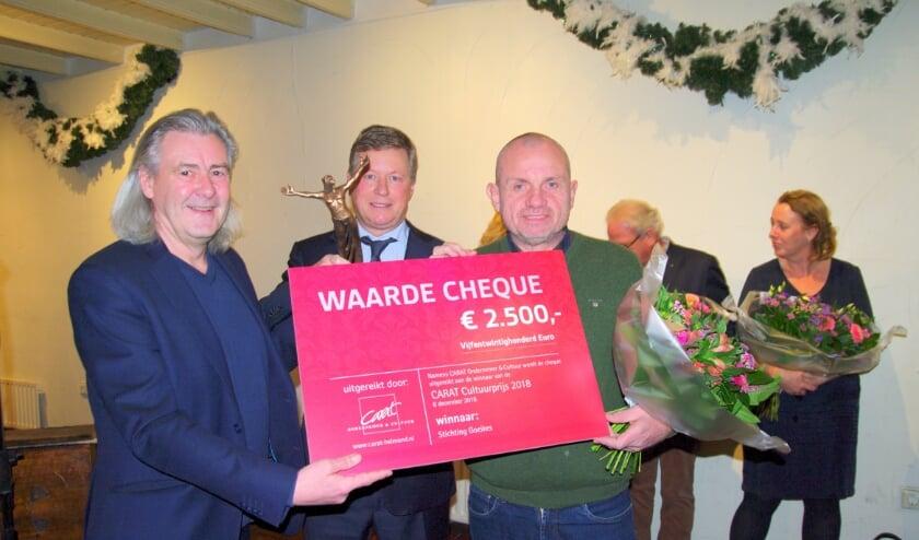 <p>Stichting Goeikes won in 2018 de Carat Cultuurprijs.</p>