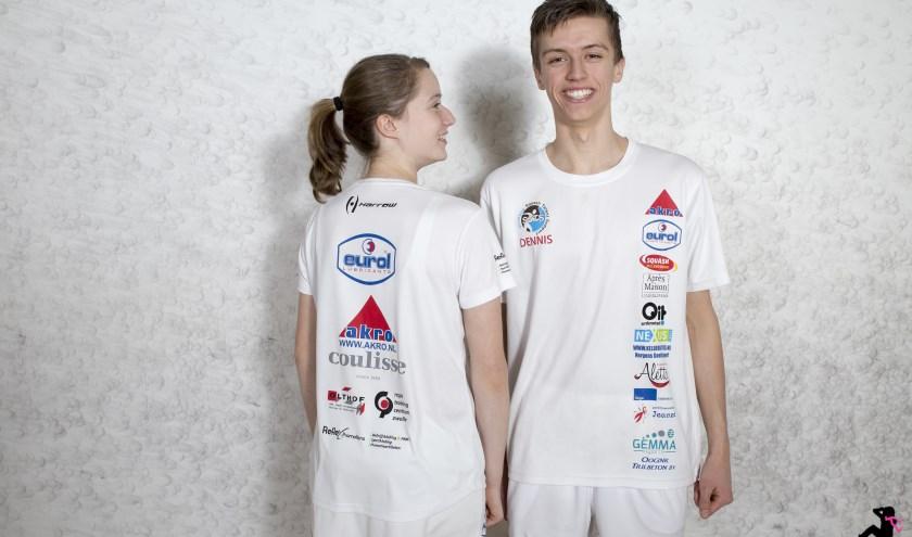 Dennis en Daniek spelen allebei in de landelijke SBN competitie, Daniek op het hoogste vrouwen niveau (eredivisie) en Dennis speelt op het één na hoogste niveau (eerste divisie) met zijn team. Eigen foto