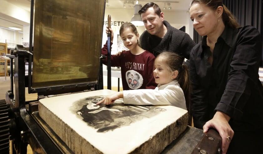 Het Nederlands Steendrukmuseum in Valkenswaard heropende begin juni de deuren.