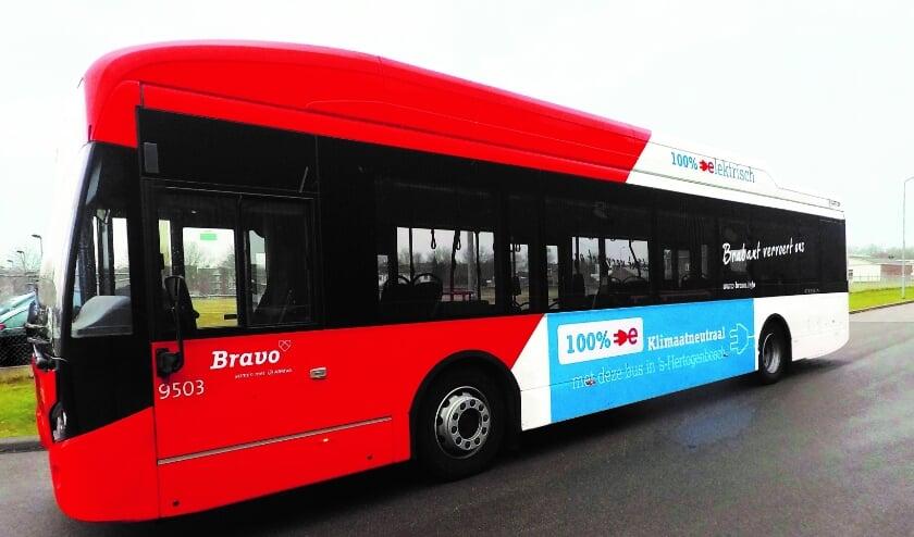 <p>Negen nieuwe elektrische bussen in de stad</p>