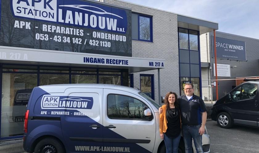 Het is volgende maand 12,5 jaar geleden dat Dennis Lanjouw samen met zijn vrouw Shirley een garagebedrijf is begonnen.