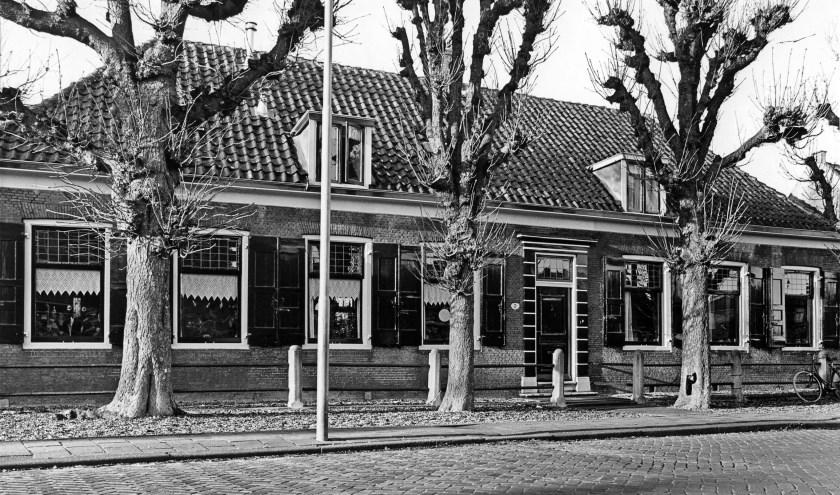 Het huis aan de Raadhuisstraat 7 en 9 in Capelle aan den IJssel.