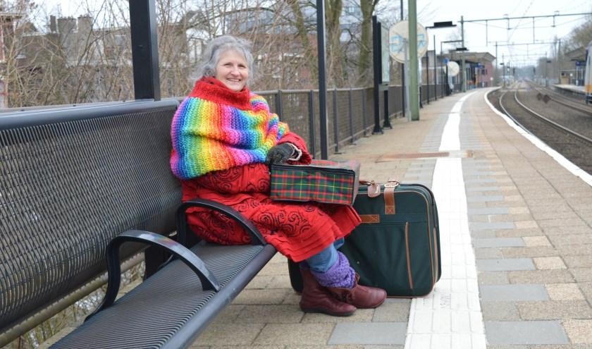 Met deze koffers reisde Mirjam van Amsterdam naar Arnhem en hoopte ze haar ziekmakende omgeving achter zich te laten en een nieuw leven te beginnen. (foto: Chantal Bolleman)