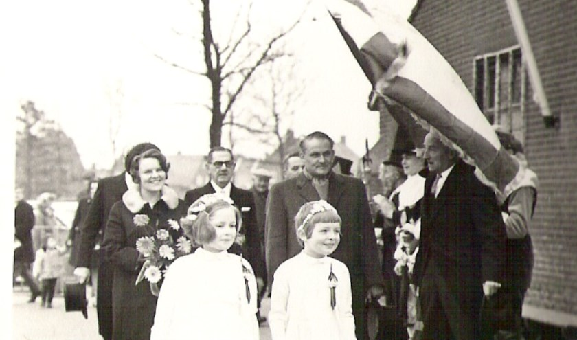 Bron: fotoscan uit het album van de familie François; tekst: Werkgroep Sporen in Spoordonk, Martien Mattheeuwse