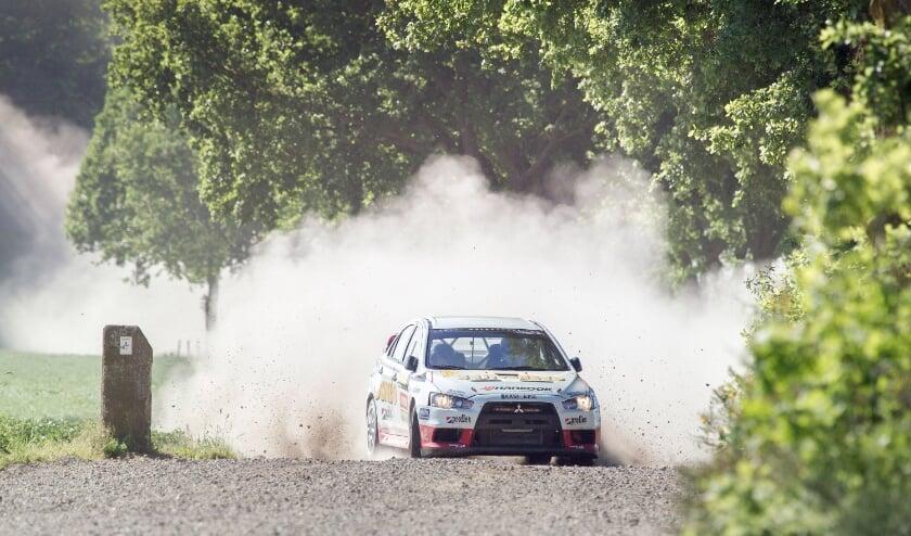 <p>Een actiefoto uit een eerdere editie van de ELE Rally.</p>