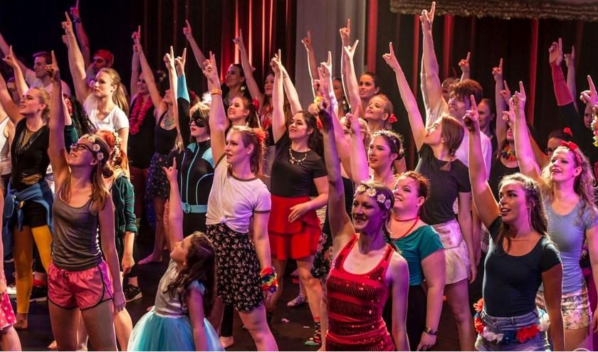Dansgroep Chassé is een van de culturele clubs die deze dag van zich laten horen en zien in het Van Heekpark.