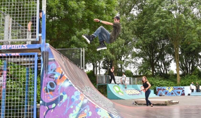 <p>Skatepark is helaas niet haalbaar. Ter illustratie een foto van een skatepark in Spijkenisse.</p>