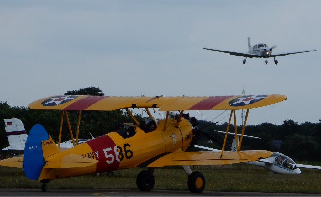De landing wordt ingezet Foto Paul Hermans © DPG Media