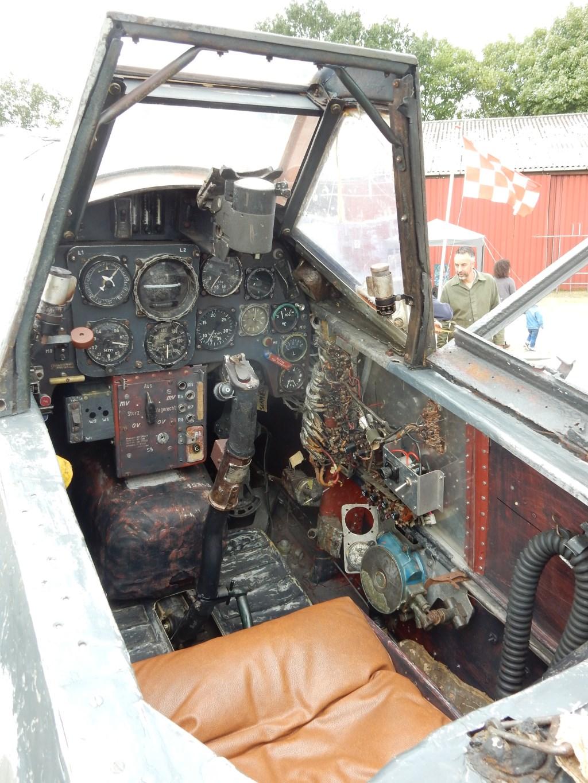 Cockpit Messerschmitt BF106 Foto Paul Hermans © DPG Media