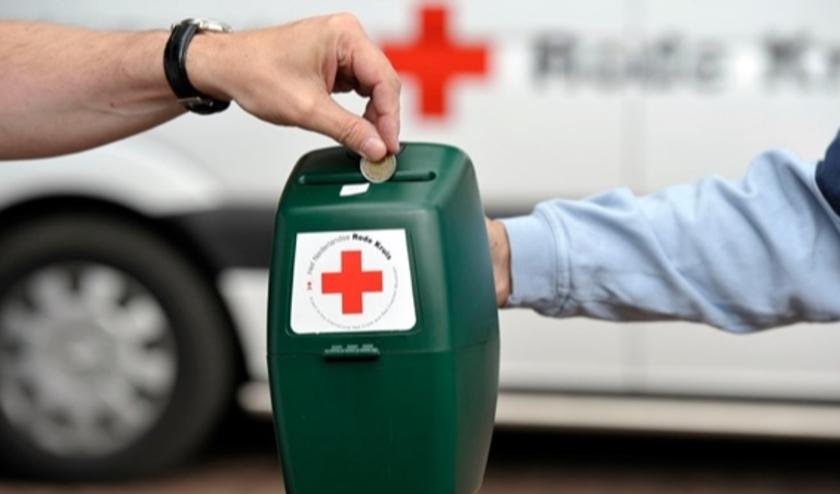 De collecte voor het Rode Kruis zal dit jaar online plaatsvinden.