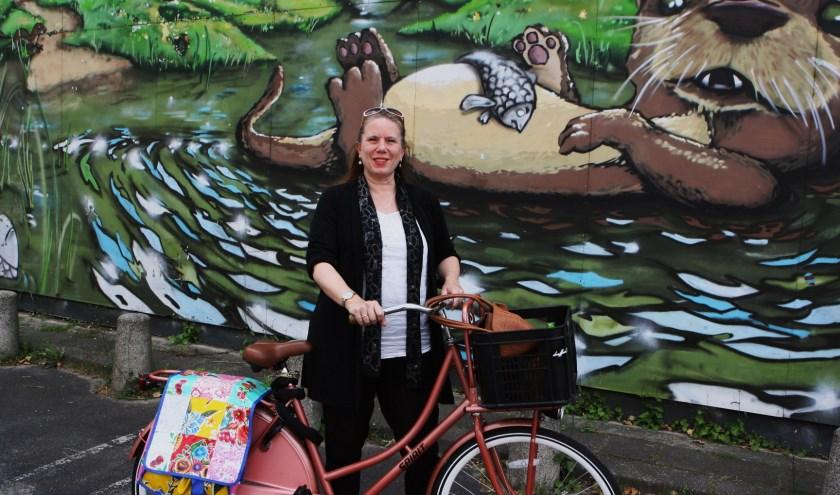 Met Greetins from Utrecht wil Didi Steen Utrechters hun stad op een andere manier laten zien   Foto: Johan Morgenstond