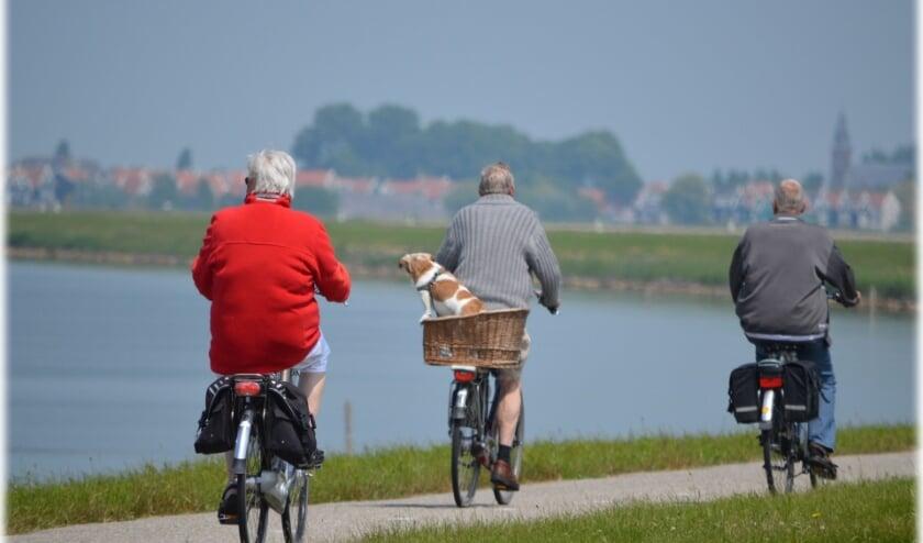 <p>Een beeld dat we graag zien: fietsen met Stichting Actief Rijnwoude.</p>