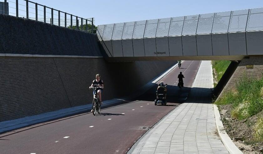 De nieuwe en snelle fietsroute vanaf Groot Holthuizen sluit straks aan op de toekomstige fietsstraat Babberichseweg. (foto: Ab Hendriks)