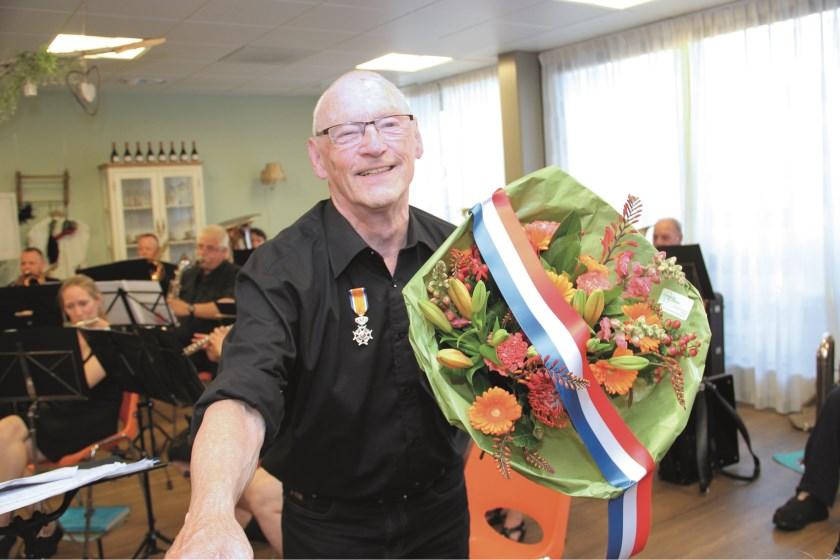 Bert ten Broeke: de koninklijke onderscheiding had hij net voor zijn tachtigste verjaardag binnen.