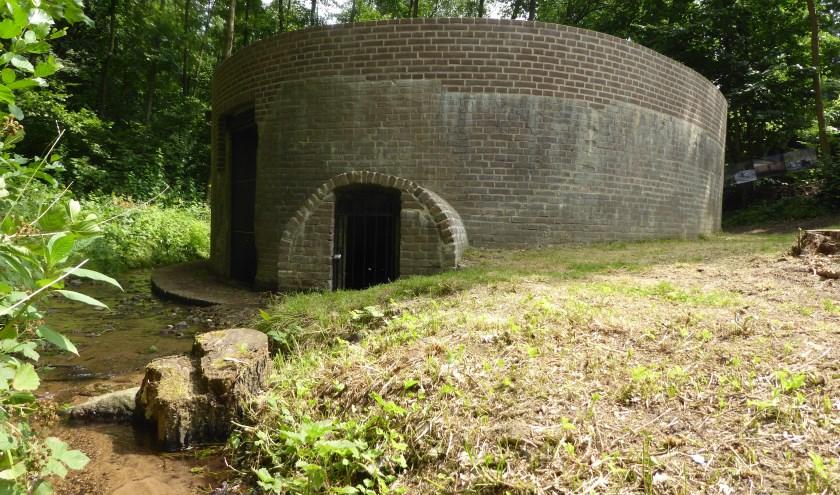 Het unieke waterfiltergebouw is weer hersteld na een eeuw in onbruik te zijn geraakt. (foto: Marnix ten Brinke)