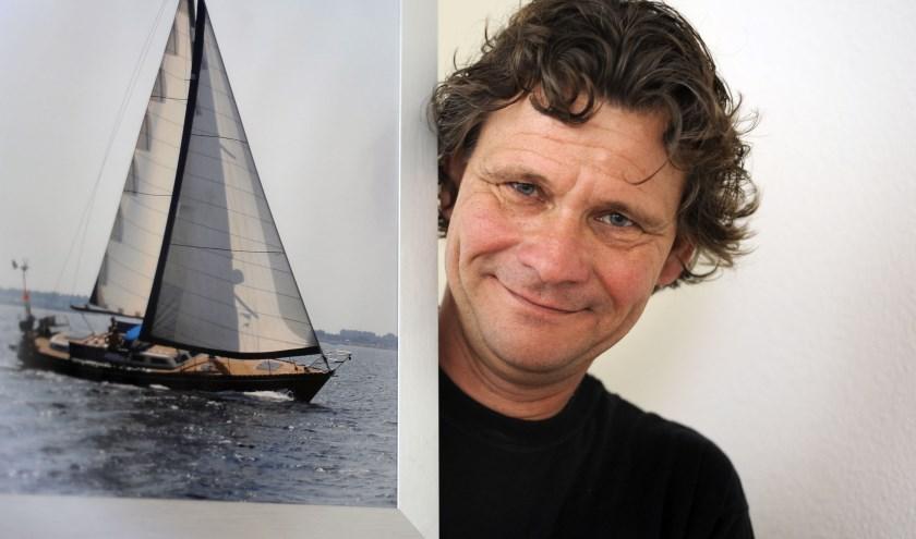 Varen op de Waddenzee: Wilko Braam, eigenaar van Neptunamor, houdt ervan. Foto: Annina Romita / TC Tubantia