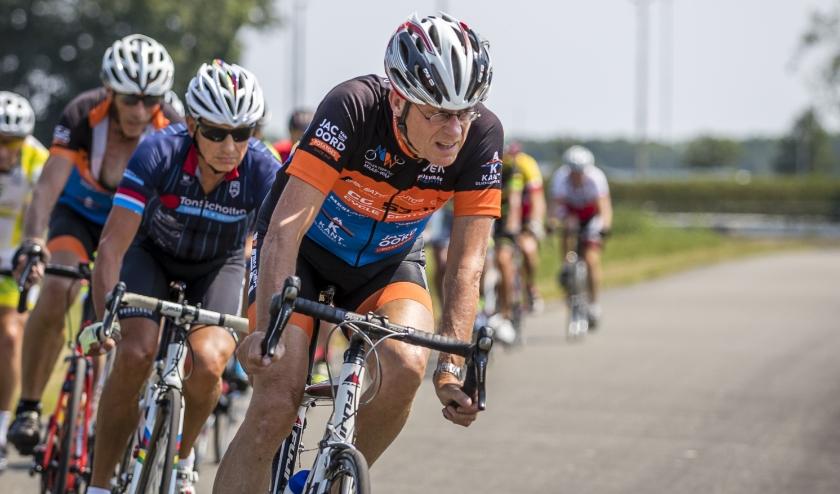 Kopman Eelco Spronk houdt lichaam en geest en coronatijd fris met alleen fietsen en niet te somberen.