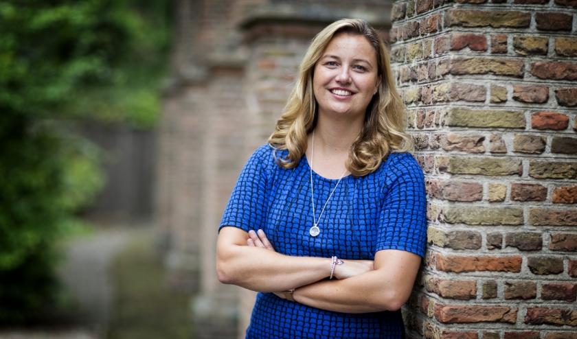 Wethouder Harriet Westerdijk: 'Voor alle kinderen is sporten belangrijk.' (Foto: Guus Schoonewille)