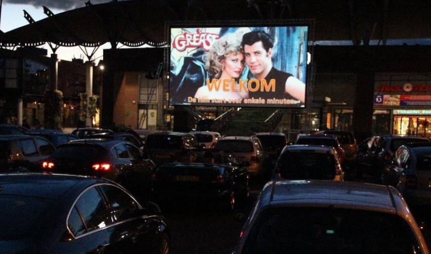 Een bijzonder weekend waarin Rijswijkers films kunnen kijken in de Drive-In Bioscoop