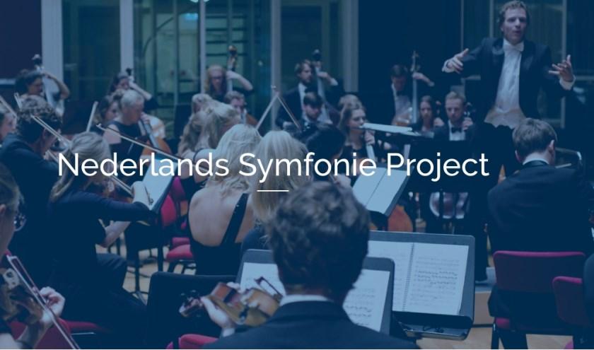 Actiefoto tijdens concert Nederlands Symfonie Project