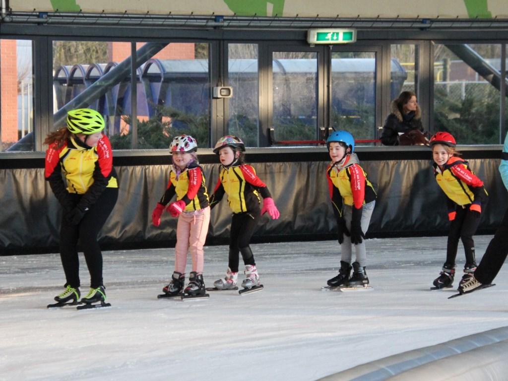 schaatsen is voor alle leeftijden Foto: eigen foto © DPG Media