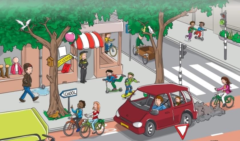 De verkeersveiligheid van kinderen is een gemeenschappelijk belang en een gedeelde verantwoordelijkheid. (Foto: Privé)