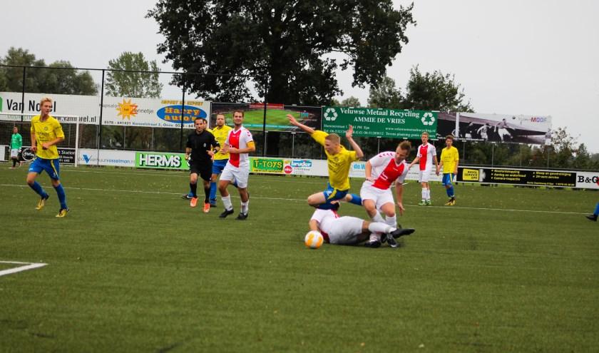Vinke's voetbaluitslagen uit de regio: Vv Oene wint met 2-0 van Hatto-Heim. Foto: Gradus Dijkman