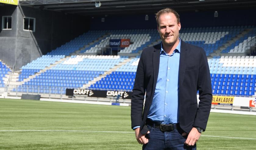 Algemeen manager Jeroen van Leeuwen.