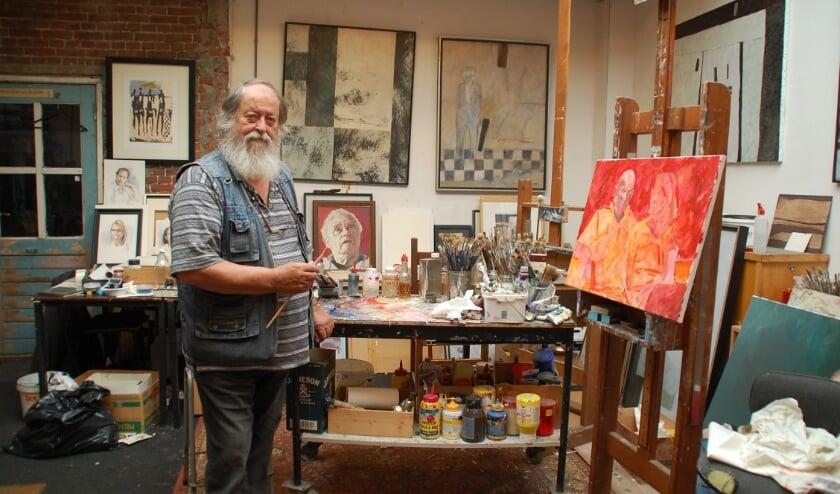 Prasadam Schmitz is een van de kunstenaars die zegt problemen te ondervinden met de verhuurder van de ateliers in De Kas.