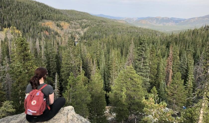 Boven op de Rocky Mountains in Denver, CO waar ik even mijn rust kan vinden  Foto: Noortje de Vries