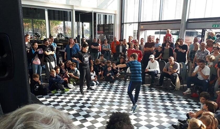 <p>Breakdance workshop bij Urban Matterz in een eerdere editie.</p>