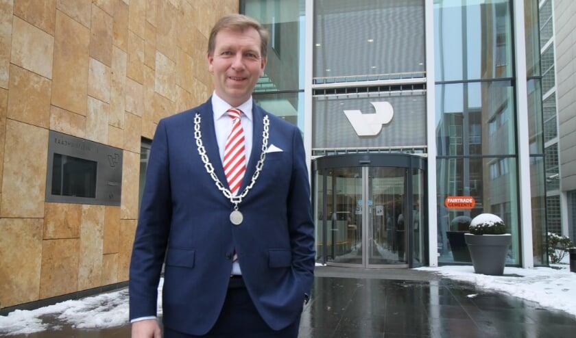 <p>Burgemeester Gert-Jan Kats. (Archieffoto: Marco Diepeveen)</p>