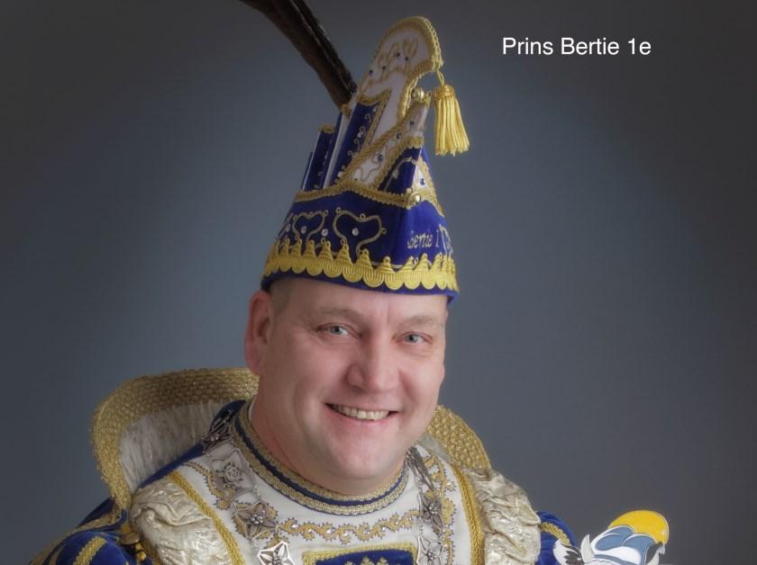 Prins Bertie de eerste.