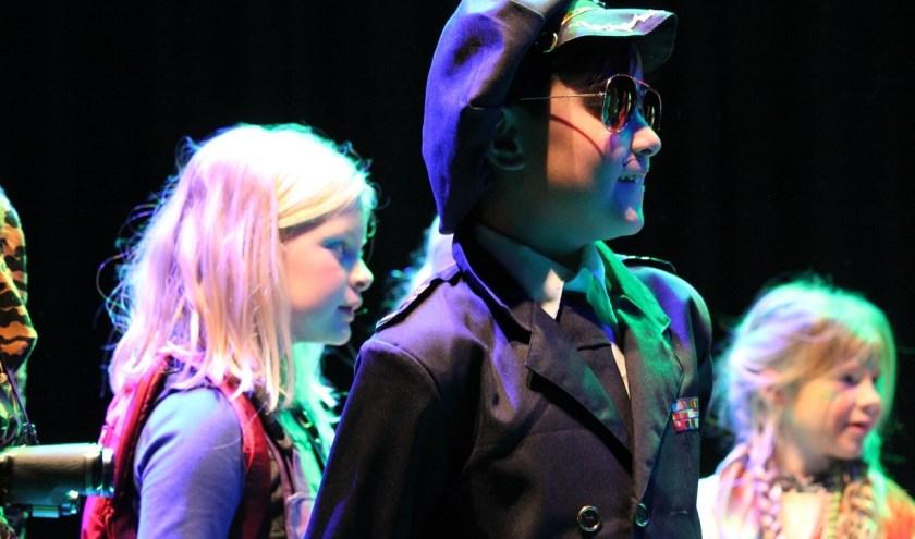 De toneellessen voor kinderen start in januari opnieuw