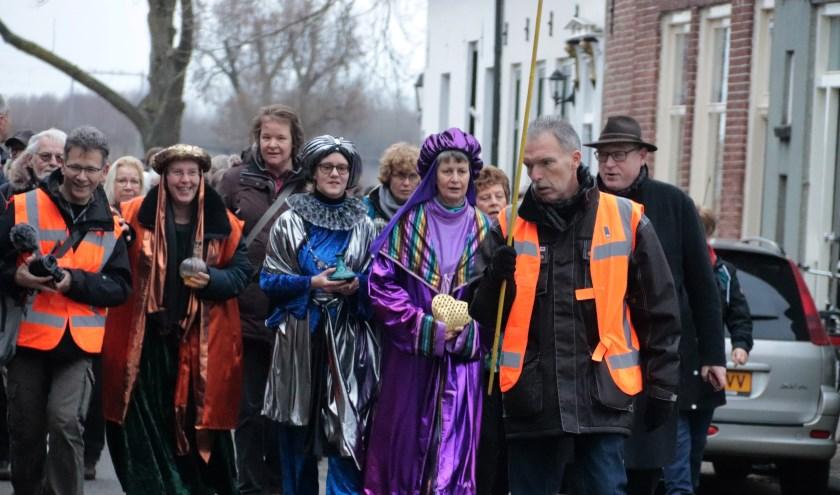 Een warm onthaal was er voor de deelnemers van de 16 km tocht t.g.v. driekoningen