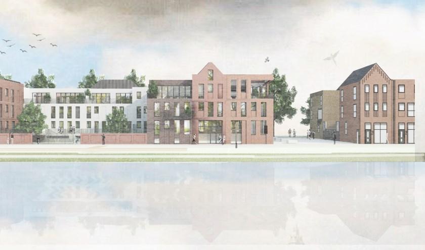 Op Sluiseiland komt een mooi project tot stand, gedragen door bewoners zelf.