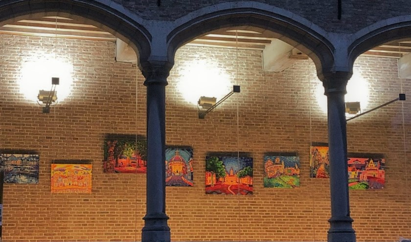 schilderijen van Wieteke