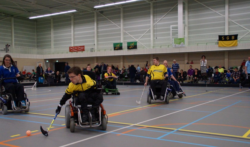 Competitiedag E-hockey in Goes