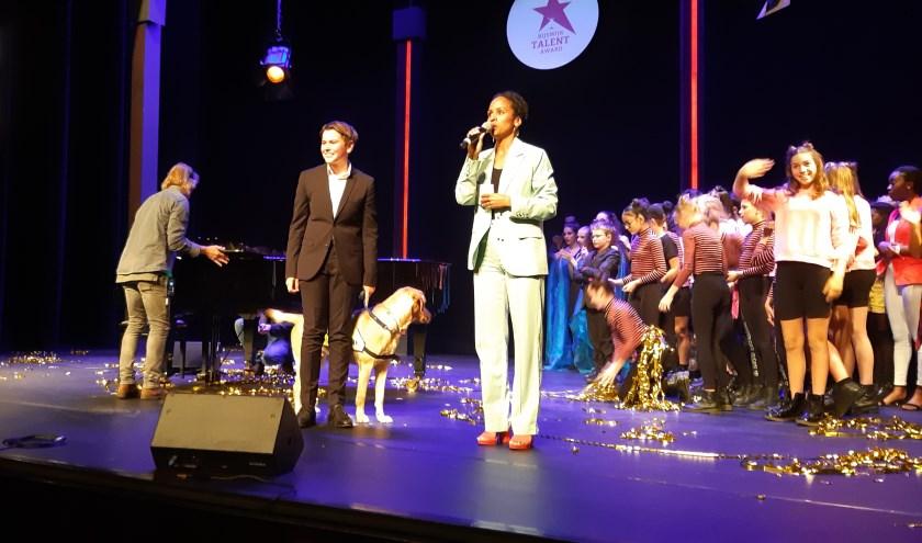 Applaus voor de winnaar van de Rijswijk Talent Award 2019: Maarten Bakker. Foto: Frans Limbertie