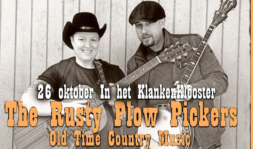 Melody Jane en Banjo Chuck vormen samen The Rusty Plow Pickers.