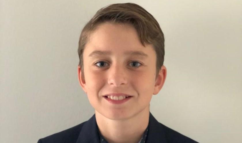 De 11-jarige Tijn kijkt uit naar zijn nieuwe functie.  ''Toen de burgemeester mij belde, kon ik bijna niet geloven dat ik echt gekozen ben.''