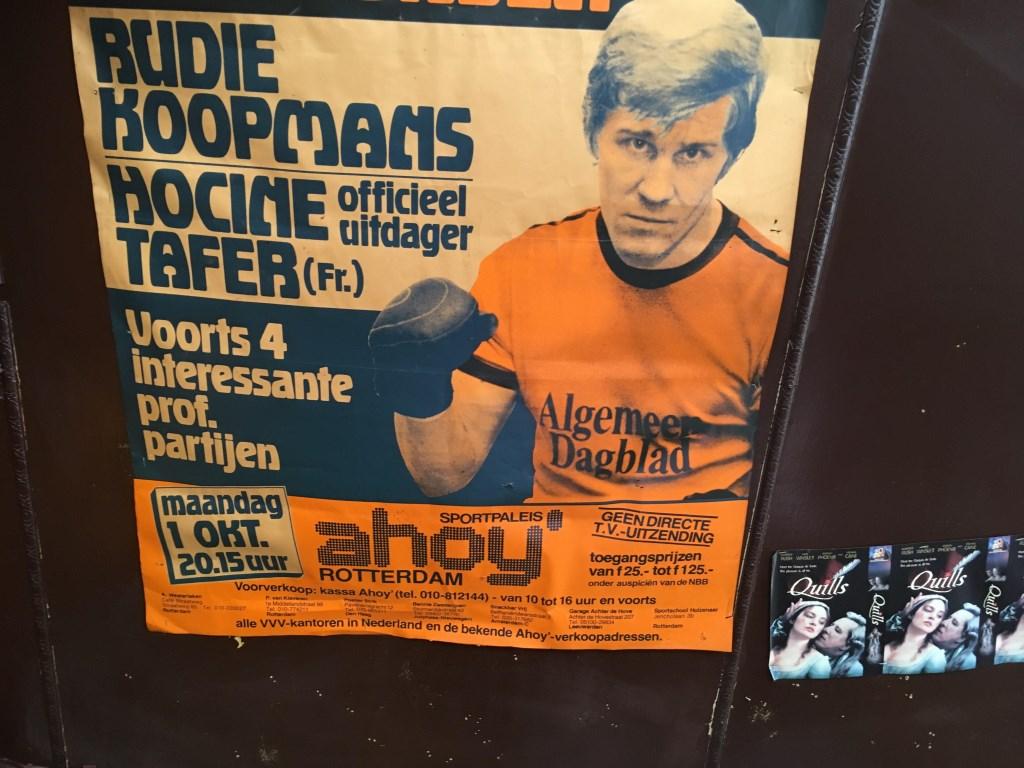 Niet alleen in Odeon en De Doelen, ook in Ahoy vonden vroeger grote bokstoernooien plaats.   © DPG Media