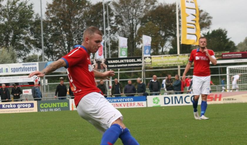 De eerste thuiswedstrijd werd door De Vogels gewonnen (Foto: Jan Boom)