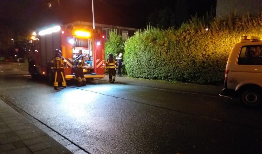 Brandweer opgeroepen voor keukenbrand in Hoogvliet. Foto en tekst: AS Media