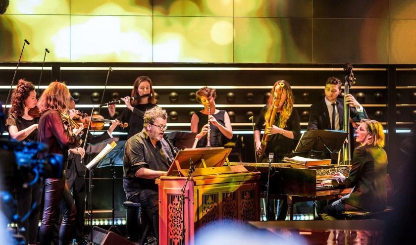 Daniel Lohues samen met Holland Baroque. Foto: Wouter Jansen.