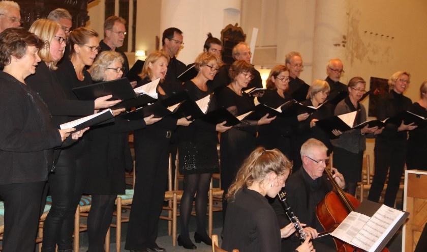 Er was een uniek concertin de Grote of Barbarakerk over Bonhoeffer.