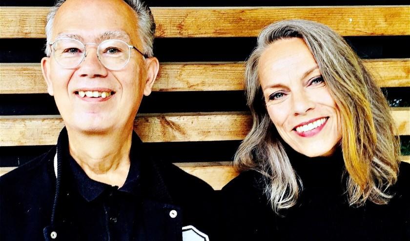 Johan Foliant en zijn 'partyslinger' Marieke Meischke. Foto: Rianne & Tante Tilly