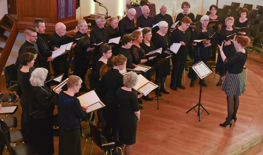 12 oktober treedt Nova Voce op in de Bethelkerk in Zwijndrecht. (Foto: Corrie van den Berg)