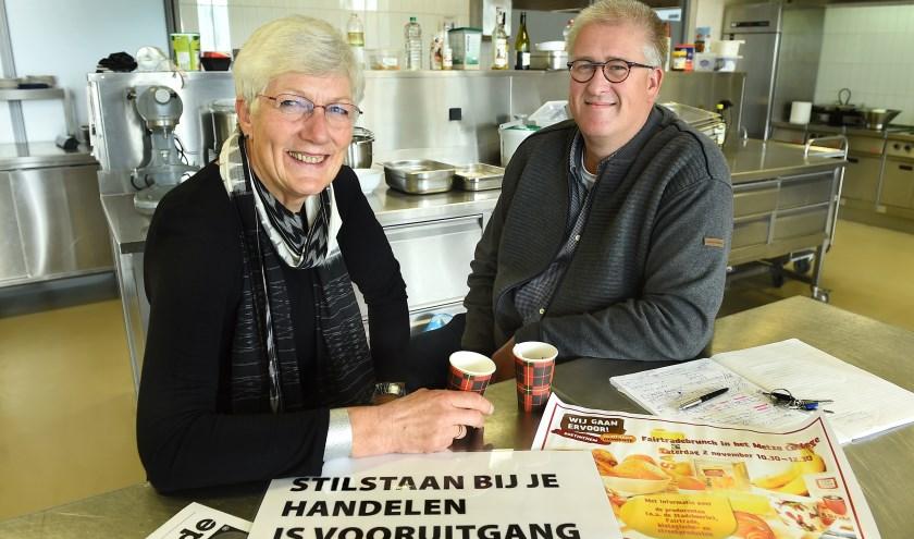 Anneke Peerenboom (links) en René Klein.