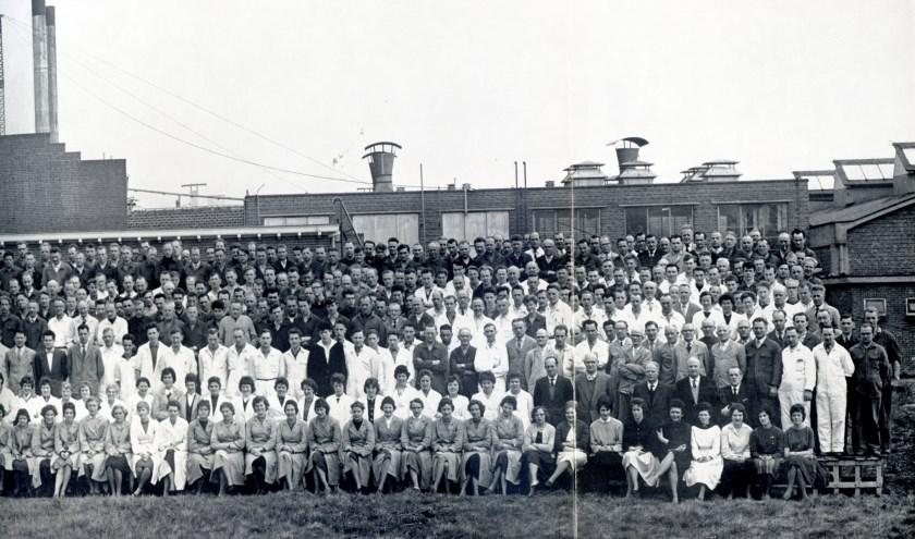 De overige personeelsleden van d'Oale Bleeke in 1961.